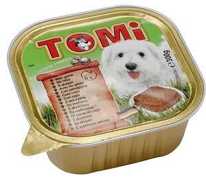 Консервы Tomi Game Влажный корм для собак Томи Дичь паштет 0,3 кг