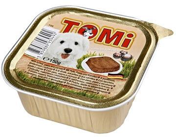 Консервы для собак Tomi Turkey Carrots Индейка с морковью паштет 150 гр