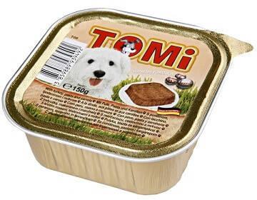 Консервы для собак Tomi Turkey Carrots Индейка с морковью паштет 150 гр, фото 2
