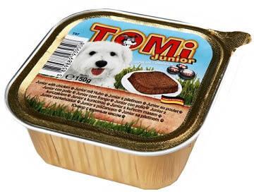 Консервы для щенков Tomi (Томи) Junior Паштет 150 гр, фото 2
