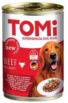 Tomi Beef Супер премиум влажный корм Консервы для собак Томи Говядина 0,4 кг, фото 2