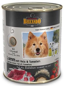 Belcando (Белькандо) Влажный корм для собак Ягненок с рисом и помидорами 0,8 кг