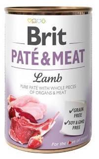 Brit Paté & Meat Lamb Консервы Брит Кеа для собак с ягненком, фото 2