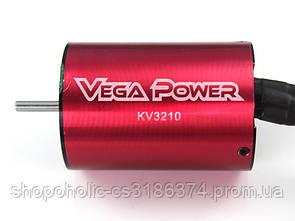 1:10 3650KV3210 Sensorless Brushless Motor 11T KV3210 3.5 Shaft Banana Plug