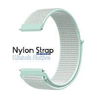 Нейлоновый Ремешок для Galaxy Watch Active Light Mint
