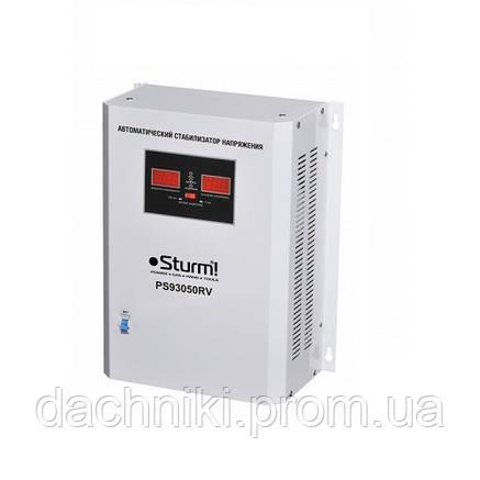 Стабилизатор напряжения настенный Sturm PS 93051 RV 5000ВА, фото 2
