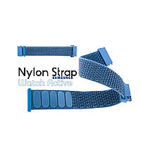 Нейлоновый Ремешок для Galaxy Watch Active Blue