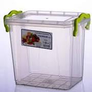 """Контейнер LUX для пищевых продуктов высокий №2 (1,4 л.) """"AL plastik"""""""