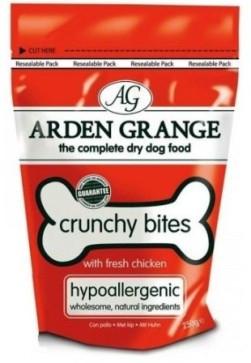 Arden Grange Гіпоалергенне ласощі для собак з куркою 225 гр
