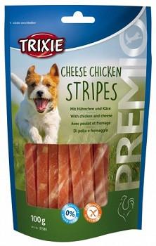 Ласощі для собак Trixie PREMIO Chicken Cheese Stripes сир курка 100 гр