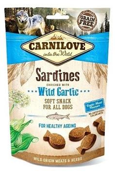 Carnilove (Карнилав) Semi Moist Лакомства для собак Сардина с чесноком