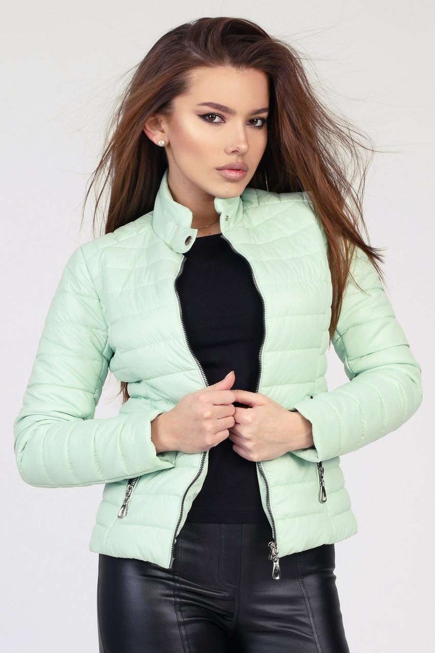 Легкая демисезонная куртка с длинным рукавом