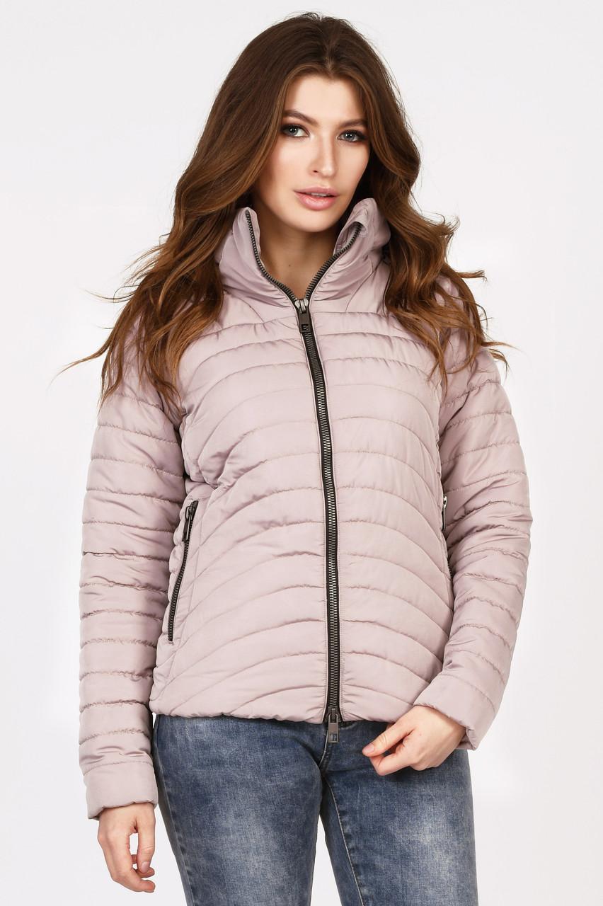 Женская демисезонная куртка короткого кроя
