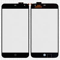 Сенсорный экран (touchscreen) для Meizu MX2, оригинальный (черный)