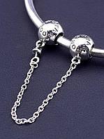 Соединительная цепочка 'Pandora style'  Серебро(925) 7 см.