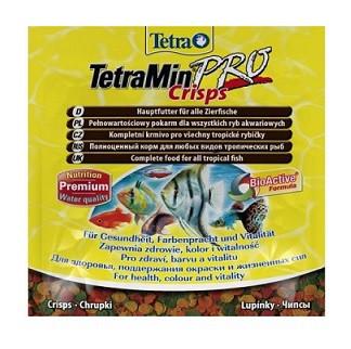 Tetra (Тетра) TetraMin Crisps Корм для аквариумных рыб Чипсы 12 гр