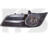Фара противотуманная левая Toyota Corolla E12 комплект с решеткой (DEPO)