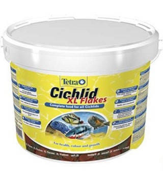 Tetra (Тетра) Cichlid XL Корм для крупных цихлид Хлопья 10 л, фото 2