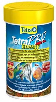 Tetra (Тетра) PRO Energy Crisps Корм для тропических рыб Чипсы 100 мл