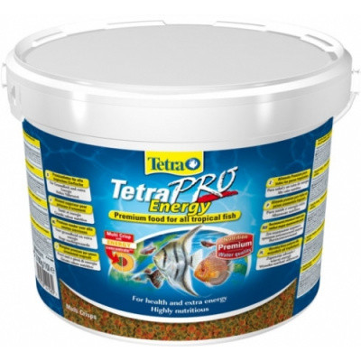 Tetra (Тетра) PRO Energy Crisps Корм для тропических рыб Чипсы 10 л