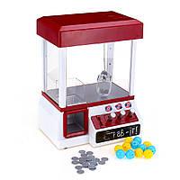 Carnival Claw Game Кукла Машинка Мини-аркада Grabber Crane Toys +24 монеты + 12 яиц - 1TopShop