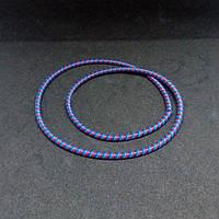 Спираль 3-цветная для защиты и декорации шнурков 3-013