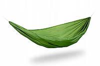 Гамак туристический Plai-RS усиленный, темно-зеленый