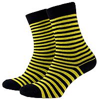 Носки мужские Mushka Bumble-bee (BEE001) 41-45 Желто-черные