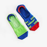 Носки-следы женские Dodo Socks Croco 39-41, набор 2 пары
