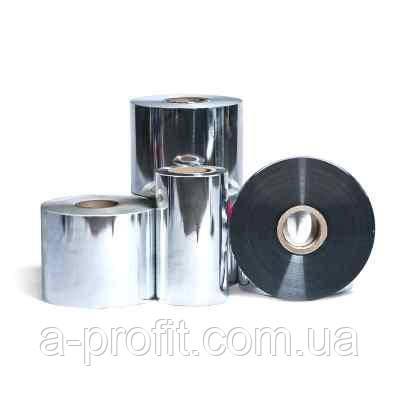Рул. плівка PET металізована, срібло, 500мм, 22мк (2000м)