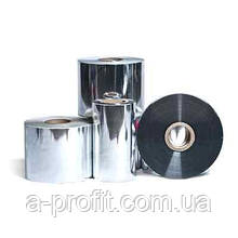 Рул. пленка PET металлизированная, серебро, 500мм, 22мк (2000м)