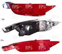 Фонарь задний левый Ford Fiesta 09- в бампере активный с противотуманной фарой (DEPO)