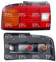 Фонарь задний левый Mazda 323 -94 C SDN рифленое стекло (DEPO)