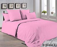 Двуспальный комплект. Розовое постельное постельное белье Простыня на резинке