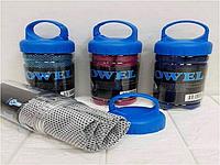 Охлаждающее полотенце LiveUp Cooling Towel (Голубой, красный, темно-синий, фиолетовый)