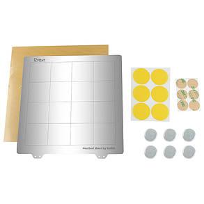Платформа с подогревом 235 * 235 мм Сталь с горячей кроватью Пластина с круглой наклейкой Магнит + Магнитic + лист PEI для 3D-принтера-1TopShop, фото 2