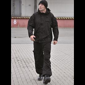 Куртка Mil-Tec SoftShell Gen.III черная