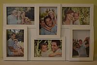 Рамка для фотографий (6 фото)