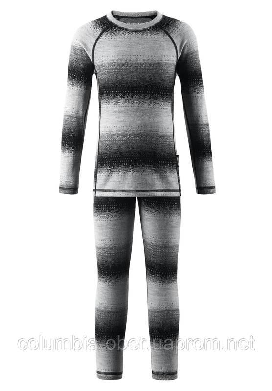 Комплект термобелья для мальчика Reima Taival 536434-9401. Размеры 80 - 160.