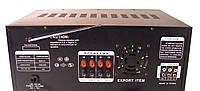 Усилитель звука с караоке и радио UKC KA2009 1052, черный