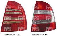 Фонарь задний левый Skoda Superb 3U (-06) (DEPO)