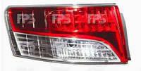 Фонарь задний левый Toyota Avensis 09- SDN PY21W/LED (DEPO)