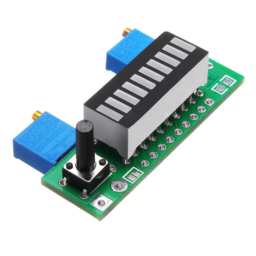5шт. Зеленый LM3914 Батарея Модуль индикатора емкости LED Тестер уровня мощности Дисплей Board - 1TopShop
