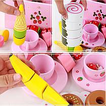 Деревянная кухня Притворись Play Toy Кукла Аксессуары для дома Сладкие принцы Мороженое Готовим пазл - 1TopShop, фото 2