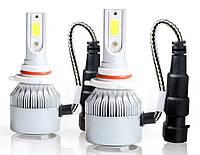 Комплект автомобильных LED ламп MHZ C6 в туманки 9005