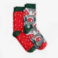 Носки мужские Dodo Socks Koliada 44-46, набор 2 пары
