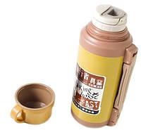 Термос железный Stenson 6718 1.8 л, с чашкой