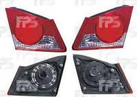 Фонарь задний левый внутренний Honda Civic 06-11 (06-09-) (DEPO)