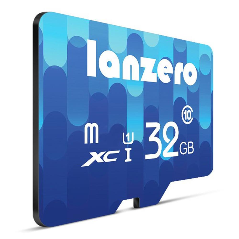 Lanzero 8GB 16GB 32GB 64GB Class 10 High Speed TF Card Flash Карта памяти для мобильного телефона GPS Tablet - 1TopShop
