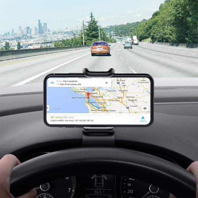 Remax Регулируемый зажим 360 градусов вращения Авто Держатель держателя Dashabord для мобильного телефона Xiaomi - 1TopShop